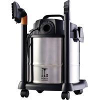 Aspirador De Pó E Água Wap Gtw 12, 1400W, 12L, Inox 110V