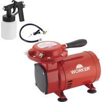 Compressor De Ar Direto Worker 371629 2.8 Bar 1/3 Hp Bivolt