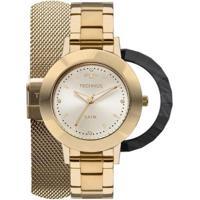 Relógio Feminino Technos 2035Mlj/T4X Pulseira Aço Dourada - Feminino