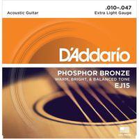 Encordoamento De Violão Phosphor 0.10 Aço Bronze Ej15 D Addario
