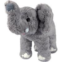 Elefante De Pelúcia Em Pé G