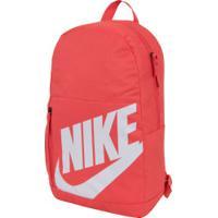 Mochila Nike Elemental Ya - Infantil - 20 Litros - Vermelho
