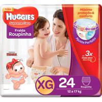 Fralda Roupinha Huggies Supreme Care Tamanho Xg 24 Unidades