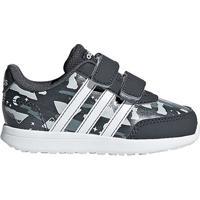 Tênis Infantil Adidas Vs Switch 2 Feminino - Unissex-Cinza+Branco
