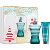 Kit Le Male Eau De Toilette Jean Paul Gaultier - Perfume Masculino 125Ml + Gel De Banho Kit - Unissex-Incolor