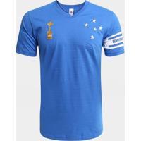 Camiseta Cruzeiro Capitães Libertadores 1976 Masculina - Masculino