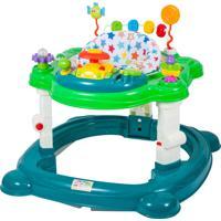 Andador E Centro De Atividades Musical Com Assento - Meninos - Baby Style