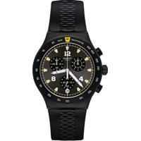 3e40fb3af5a Relógio Swatch Masculino Borracha Preta - Yvb405