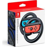 Par De Volantes Nintendo Joy-Con Wheel Para Switch Preto