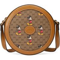 Gucci Bolsa Tiracolo Com Estampa X Disney Mickey Mouse - Neutro