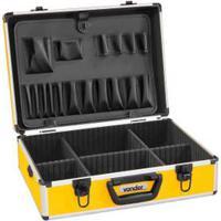 Caixa Para Ferramentas Maleta Mfv312 36X16Cm Amarela E Preta Vonder