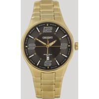 Relógio Analógico Orient Masculino - Mgss1136 P2Kx Dourado - Único