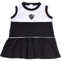 Vestido Bebê Atlético Mg Regata Oficial Revedor