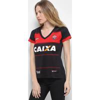 Camisa Vitória I 2018 S/N° Torcedor Topper Feminina - Feminino