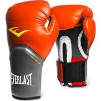 2aaca463c Netshoes  Luva De Boxe Muay Thai Everlast Pro Style - 12 Oz - Masculino