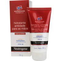 Hidratante Anti-Idade Para Mãos Neutrogena Norwegian Formula Fps30 56G