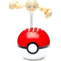 Bloco De Montar. Mega Construx. Pokémon. Pokebola. Geoduce. Mattel. - Unissex-Incolor