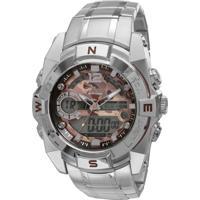 Relógio Condor Coleção Militar Coad1119A/3M - Prata
