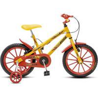 Bicicleta Colli Bikes Infantil Aro 16 Hot Colli Amarelo