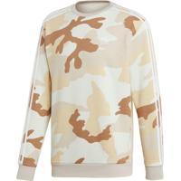 Blusão E Jaqueta Adidas Camo Crewneck Multicolorido