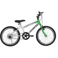 Bicicleta Aro 20 Mtb S/M Evolution Masculina Verde Athor Bike