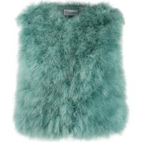 Red Valentino Feather Gilet - Azul