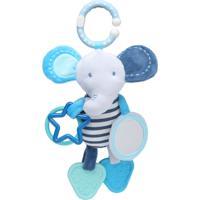 Brinquedo De Pendurar Elefante Azul - St