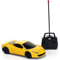 Carrinho Unik Toys Com Controle Remoto Amarelo - Kanui