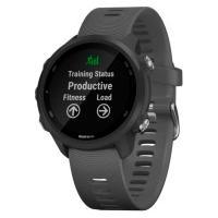 Monitor Cardíaco Com Gps Garmin Forerunner 245 - Cinza Escuro