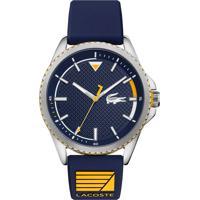 Relógio Lacoste Masculino Borracha Azul - 2011027