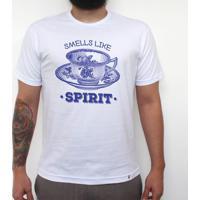 Smells Like Tea Spirit - Camiseta Clássica Masculina