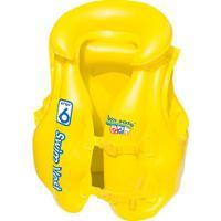 Colete Salva-Vidas Inflável Mor Premium 1814 - Infantil - Amarelo