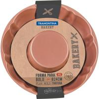 Forma Para Bolo Bakery- Bronze- 6,5X28,5X26,5Cm-Tramontina