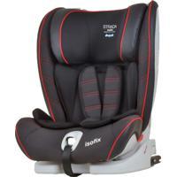 Cadeira Para Auto 9 A 36Kg Strada Isofix Black Red Line-Burigotto