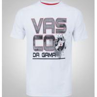 Camiseta Do Vasco Da Gama Sigma - Masculina - Branco