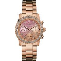 Relógio Guess Feminino Aço Rosé - W0774L3