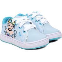 Tênis Infantil Disney Princesa Ciderela Feminino - Masculino-Azul