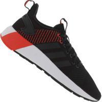 Tênis Adidas Questar Byd - Masculino - Preto/Vermelho