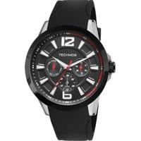 Relógio Technos Performance Racer 6P29Ahc/8P - Unissex-Prata
