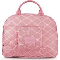 Bolsa De Viagem Jacki Design Dobrável Estampado - Unissex-Rosa