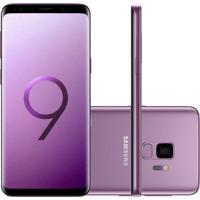 """Smartphone Samsung Galaxy S9 Ultravioleta Tela Infinita De 5,8"""" Câmer"""
