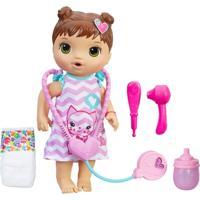 Boneca Baby Alive - Morena - Cuida De Mim - C2692 - Hasbro - Feminino