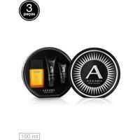 Kit 3Pçs Perfume Azzaro Pour Homme 100Ml