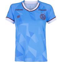Camisa De Goleiro Do Bahia I 2020 Esquadrão - Feminina - Azul Claro
