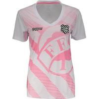 Camisa Topper Figueirense 2018 Outubro Rosa Feminina - Feminino