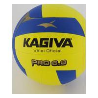 Bola De Vôlei Kagiva Pro 6.0 Amarela E Azul