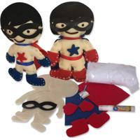 Bonecos Heróis Da Alegria Alegria Sem Bateria Colorido