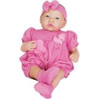 Boneca Reborn Pesadinho - Feminino-Rosa