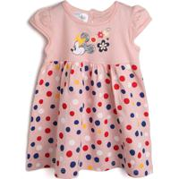 Vestido Marlan Baby Minnie Rosa