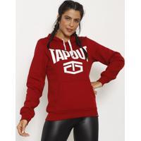 Blusão Tapout® - Vermelho Escuro & Brancotapout